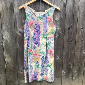 Anthropologie Edme and Esylle Floral Dress